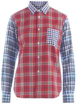Comme des Garcons Boys Multicolor Checked Shirt
