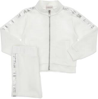 Moncler Cotton Zip-Up Sweatshirt & Sweatpants
