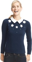 Draper James Embellished Snowflake Sweater