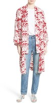 Robert Rodriguez Women's Print Silk Robe