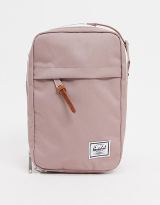 Herschel Chapter Connect travel bag in ash rose