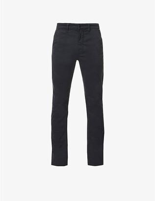 Nudie Jeans Slim Adam slim-fit tapered stretch-cotton chinos