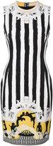 Versace Senape print mini dress - women - Polyester/Spandex/Elastane/Viscose - 40