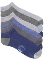 Lucky Brand Men's Half Cushion Men's No Show Socks - 6 Pack