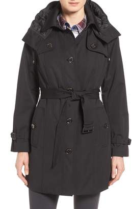 London Fog Single Breasted Trench Coat
