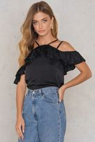Lucca Couture Off Shoulder Ruffle Top