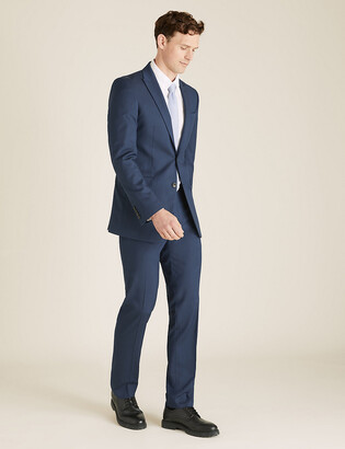 Marks and Spencer Slim Fit Trousers with Stretch