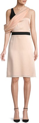 Lanvin Asymmetrical A-Line Dress