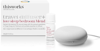 This Works Travel Diffuser and Love Sleep Bedroom Blend
