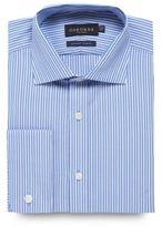 Osborne Blue Tailored Fit Twill Striped Shirt