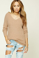 Forever 21 FOREVER 21+ Faux Mohair Sweater