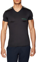 Emporio Armani Knit V-Neck T-Shirt