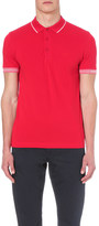 HUGO BOSS Slim-fit jersey polo shirt