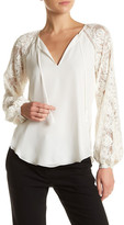 Haute Hippie Enchantment Silk Blouse