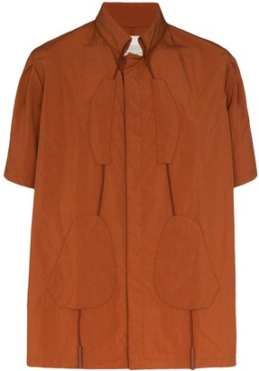 A-Cold-Wall* Drawcord Tonal Patch Shirt