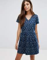 Jack Wills Ditsy Print Shirt Dress