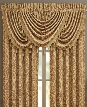 J Queen New York J Queen Sunrise Gold Straight Valance Bedding