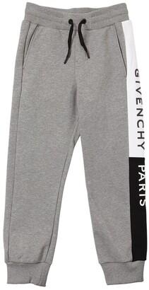 Givenchy Logo Print Cotton Sweatpants