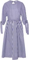 Rosetta Getty Gingham Cotton Dress