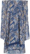 Alice + Olivia Alice+Olivia - paisley print off-shoulder dress - women - Polycarbonite - M