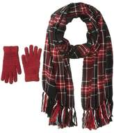 Steve Madden New England Plaid Two-Piece Set Scarves