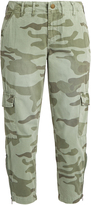 Current/Elliott The Utilitarian camouflage-print trousers