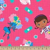Disney Doc Mcstuffins Bandaid Fleece Fabric