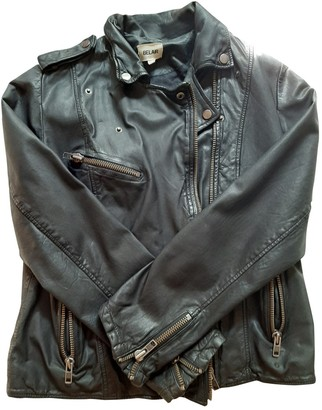 Bel Air Black Leather Leather jackets