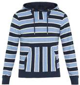 Orlebar Brown Karson hooded striped cotton sweatshirt