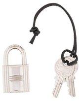 Hermes Cadena Lock & Key Set
