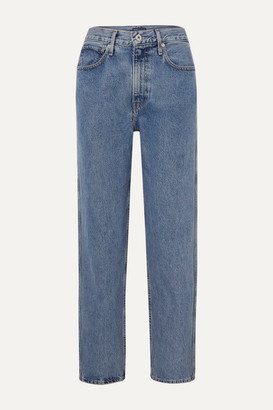 Levi's Made & Crafted The Column Mid-rise Straight-leg Jeans - Mid denim