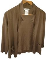 Christian Dior Camel Cashmere Knitwear