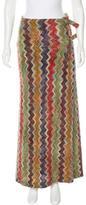 Missoni Wool-Blend Patterned Skirt