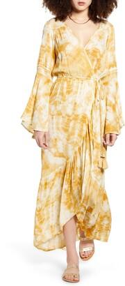 Band of Gypsies Zion Long Sleeve Maxi Dress