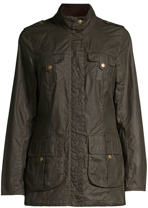 Barbour Defense Lightweight Wax Jacket