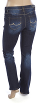 ZCO Dark Blue Embellished-Pocket Bootleg Jeans - Plus