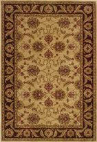 "Oriental Weavers Allure 9'10"" x 12'9"" Machine Woven Rug in Beige"