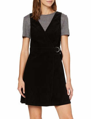 New Look Women's BCI 8W Cord WRAP Pinny Dress
