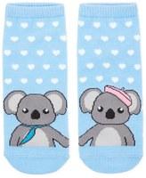 Forever 21 FOREVER 21+ Koala Bear Print Ankle Socks