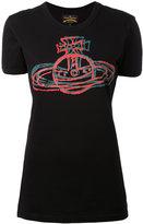 Vivienne Westwood logo print T-shirt - women - Cotton - M
