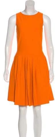 Alexander McQueen Sleeveless A-Line Dress w/ Tags