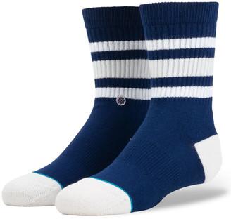 Stance Boyd 4 Kids Navy Crew Socks