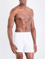 Sunspel Sea Island relaxed-fit cotton trunks