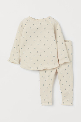 H&M Top and Pants - Beige