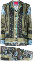 F.R.S For Restless Sleepers - Poseidone printed suit - women - Silk - S