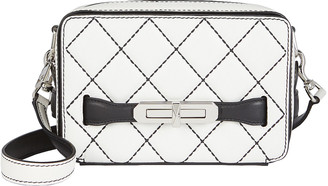 Alexander McQueen The Myth Quilted Crossbody Bag
