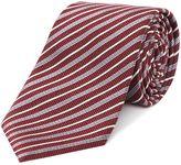 Armani Collezioni Stripped Silk Tie