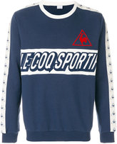 Le Coq Sportif panelled logo sweatshirt