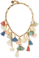 Ben-Amun Gold-plated tassel necklace