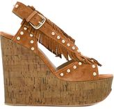 Ash 'Blossom' sandals - women - Cork/Chamois Leather/Leather/rubber - 36